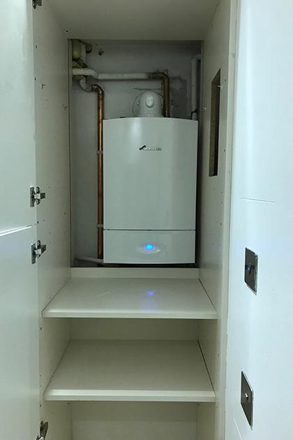New Worcester boiler installation in Hove